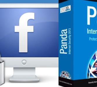 Panda ofrece sus servicios a usuarios de Facebook